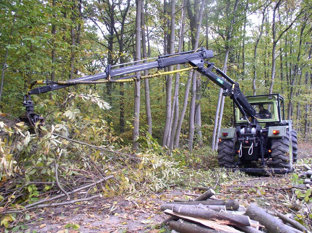 materiel forestier en france